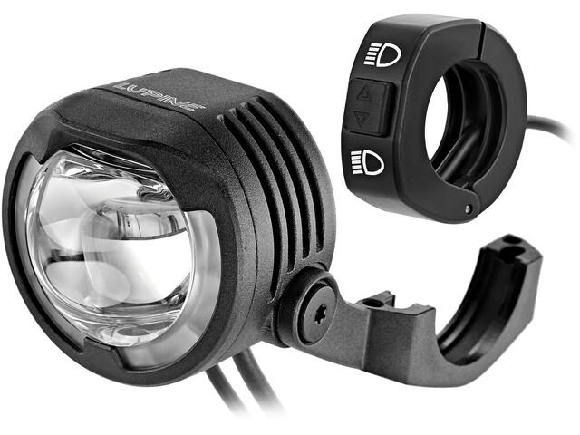 Lupine SL B Bosch Luces para bicicletas eléctricas StVZO con soporte en la pantalla de Bosch